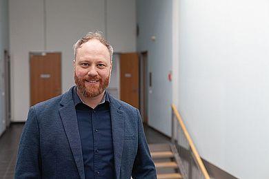Prof. Dr. Tobias Nettke © HTW Berlin / Marco Ruhlig