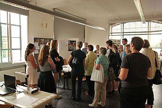 Präsentation der Museumskunde-Praxisprojekte (Bachelor). © HTW Berlin / Tobias Nettke