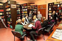 Exkursion 2014: Vortrag zur Geschichte der Bibliothek der Nekrassov-Universität
