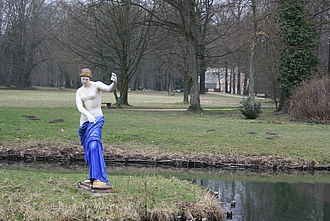 Der Schlossgarten von Branitz © HTW Berlin / Susanne Kähler