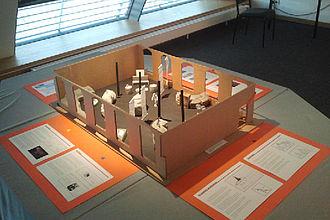 Ausstellungsmodell für das Naturkundemuseum. © HTW Berlin / Tobias Nettke