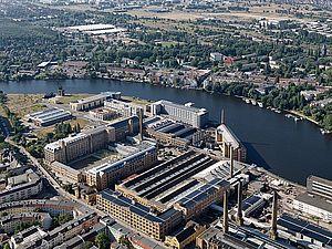 Luftbild vom Campus Wilhelminenhof. © HTW Berlin / Phillipp Meuser