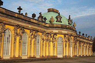 Exkursion nach Potsdam - Schloss Sanssouci. © HTW Berlin / Tobias Nettke