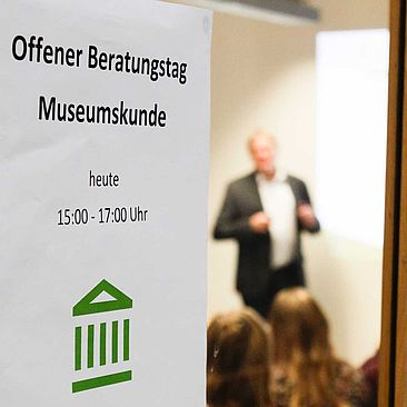 Plakat Offener Beratungstag © Marco Ruhlig