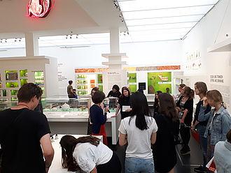 Gespräch über die Bildungsangebote im Hygiene Museum Dresden © HTW Berlin / Tobias Nettke