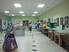 Exkursion 2013: Sonderausstellung zu historischen Spiele der Museen Kostroma
