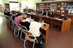 Exkursion 2014: Begrüßung an der Nekrassov-Universität