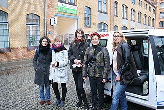 Das Museumskunde-Team der Exponatec 2015 © HTW Berlin / Museumskunde