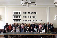 Gruppenfoto in der Generaldirektion der Staatlichen Museen zu Berlin bei der SAWA 2017/18 © SAWA Museum Academy