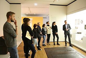 Besuch im Grassimuseum zum Thema Inventarisierung und Kulturgeschichte © HTW Berlin / Susanne Kähler