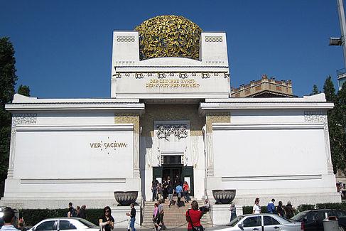Ausstellungsgebäude der Wiener Secession. © HTW Berlin / Georg Frank