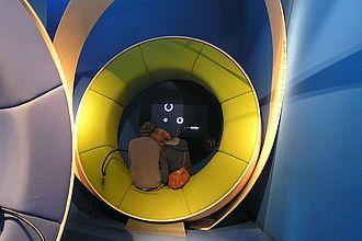 Analysen von Ausstellungsmedien, z.B. im Jüdischen Museum Berlin, sind im Studium der Museumskunde selbstverständlich. © HTW Berlin / Tobias Nettke